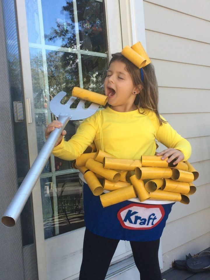 Mac'n'cheese costume
