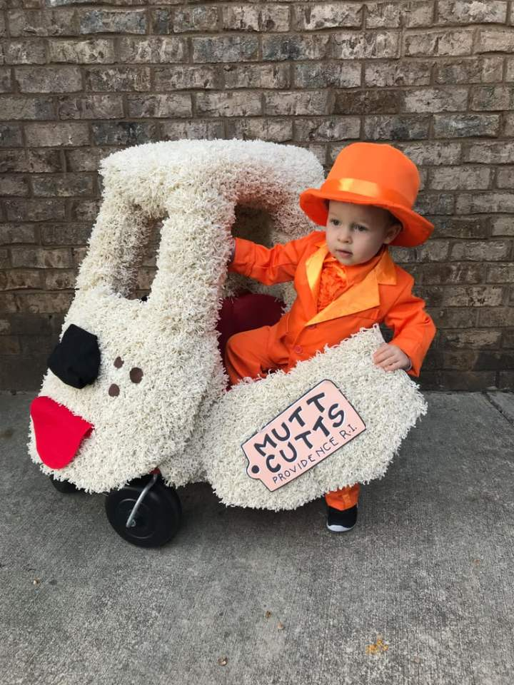 Lloyd Dumb and Dumber Costume